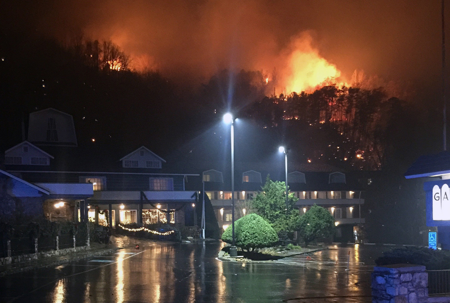 Photos of the Wildfires Near Gatlinburg, Tennessee - The ...