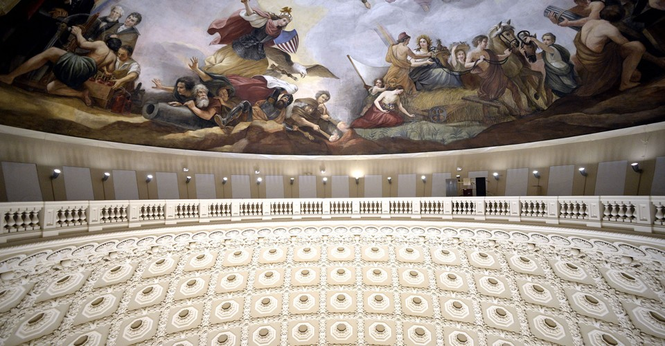 The Restoration Of The United States Capitol Dome The