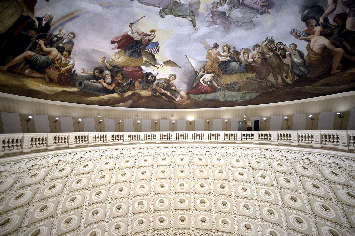 The Restoration of the United States Capitol Dome - The Atlantic