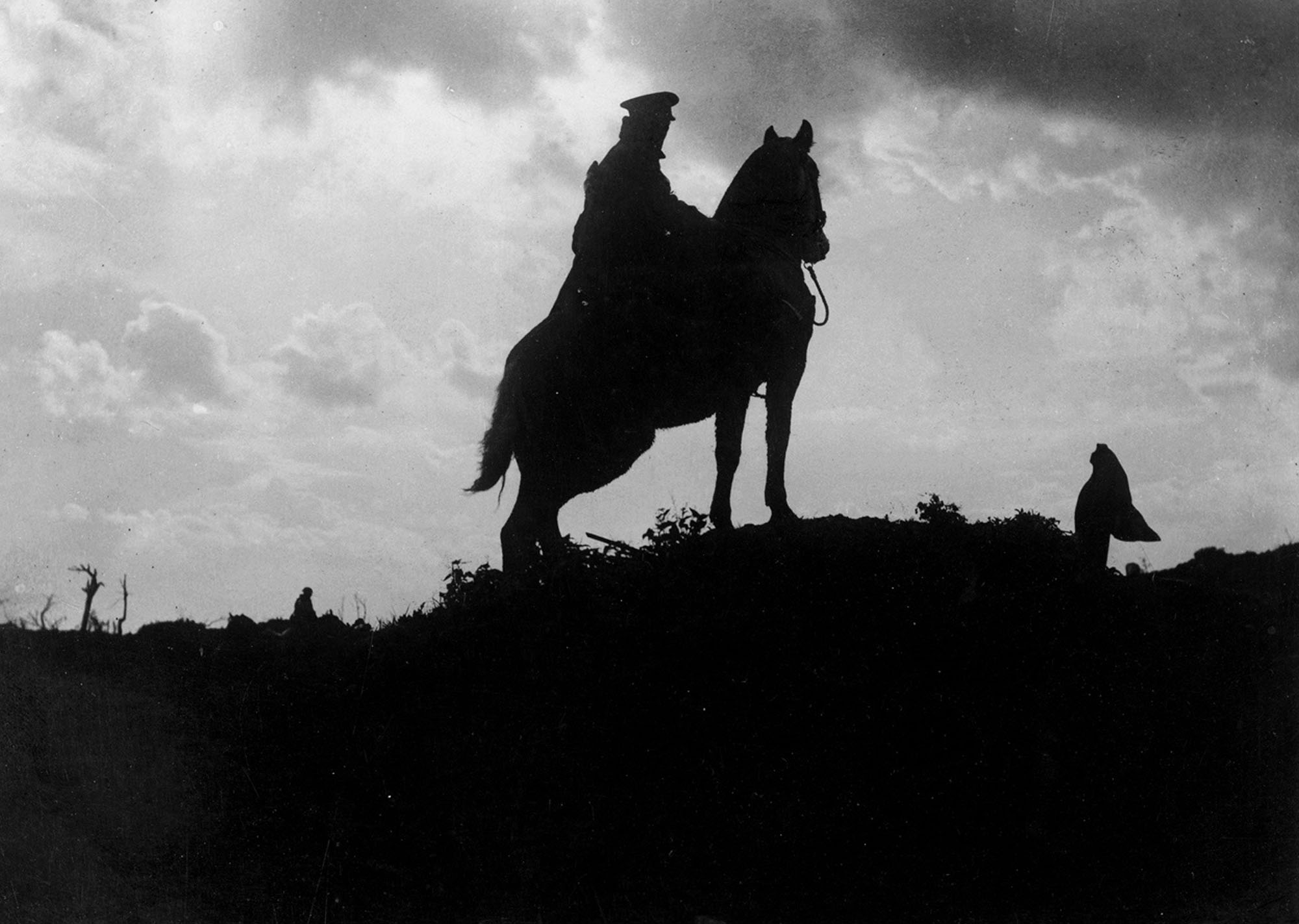 1 Man 1 Horse Video Link world war i in photos: animals at war - the atlantic