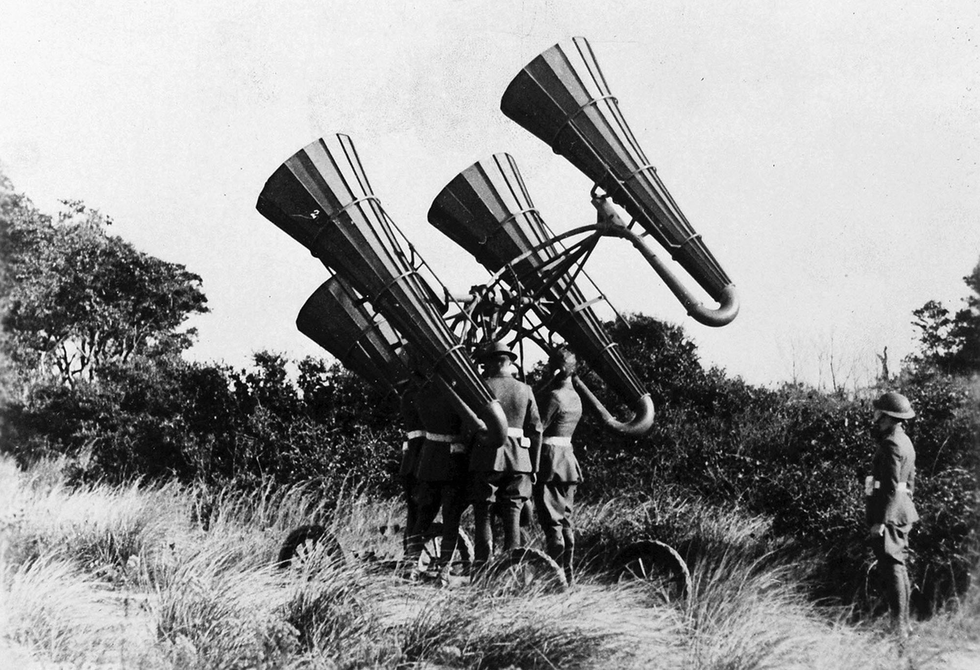 how did technology impact ww1
