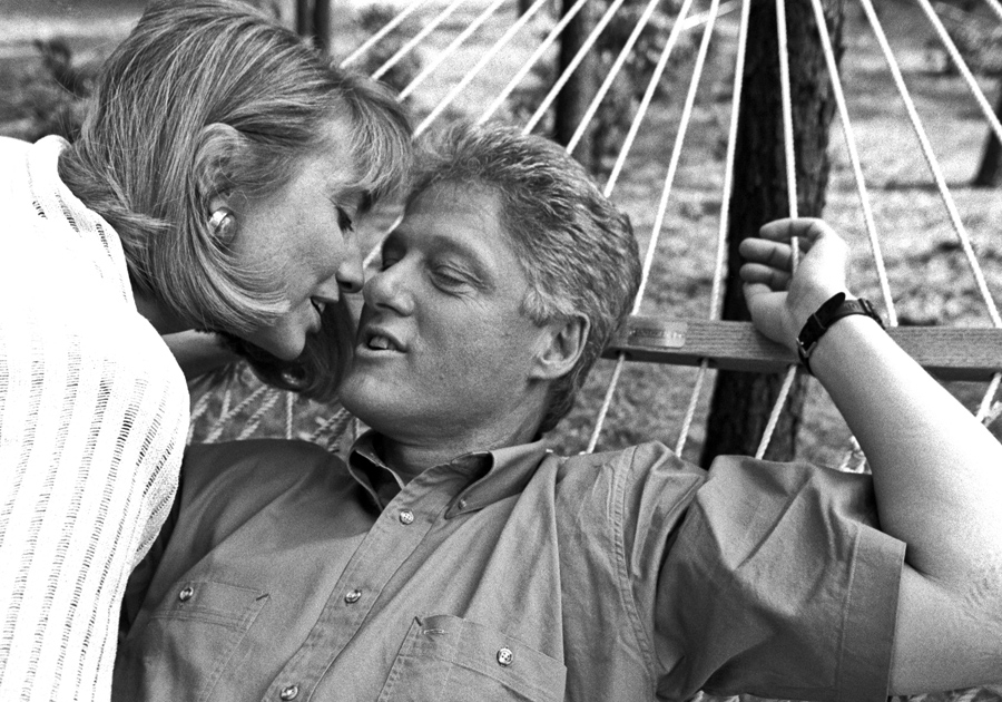 Bill and hillary clinton kiss in little rock arkansas 1992 bill clinton had just won the presidency but had not yet moved into the white house