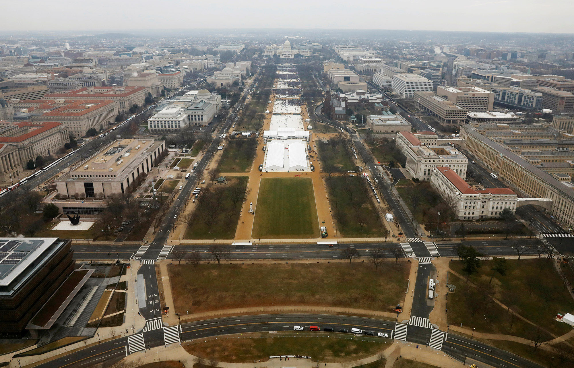 How Trumps Altered Landscape For >> Inauguration 2017 Attendance A Photographic Fact Check The Atlantic