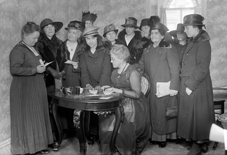 women at work in 1917 the atlantic