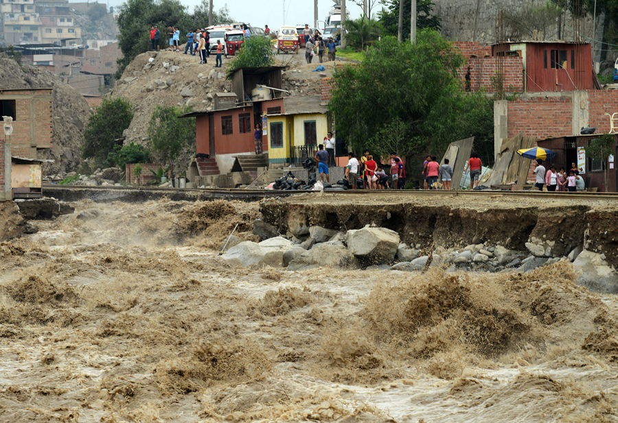 Peru Suffers Worst Flooding in Decades - The Atlantic