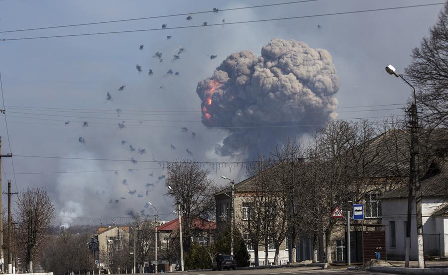 Explosión de garrafa en la ciudad de San miguel