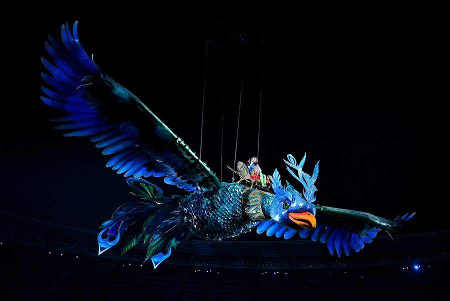 Image result for baku 2017 opening ceremony