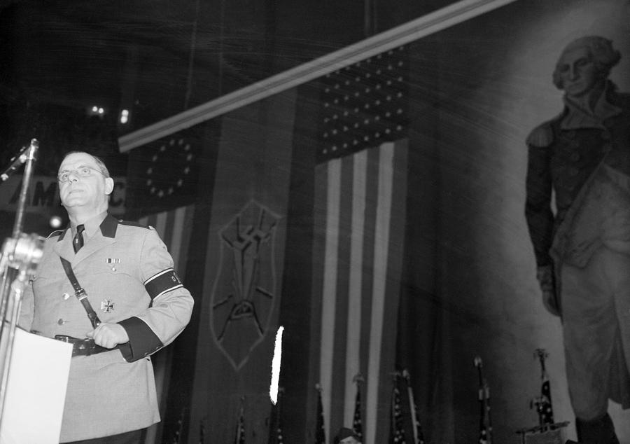 20 lutego 1939, Nowy Jork. Przemówienie amerykańskiego Fuehrera.