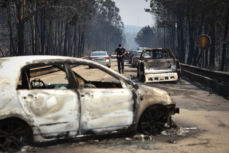 葡萄牙Leiria区Pedrogao Grande森林火灾 (二) - wuwei1101 - 西花社