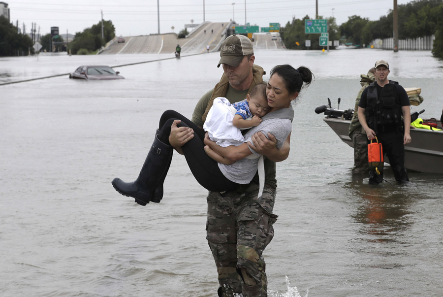 The Unprecedented Flooding In Houston In Photos The Atlantic