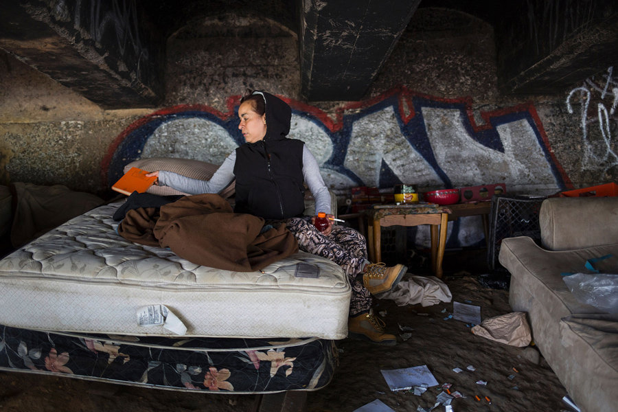 Closing Down A Notorious Heroin Camp In Philadelphia The