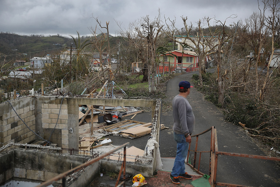 Image result for images of Puerto Rico damage