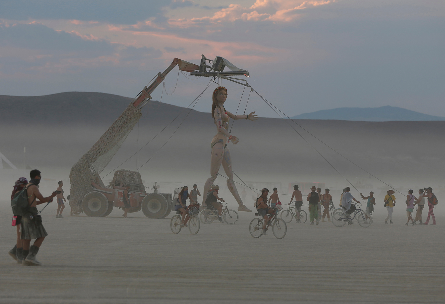 Burning man festival gay