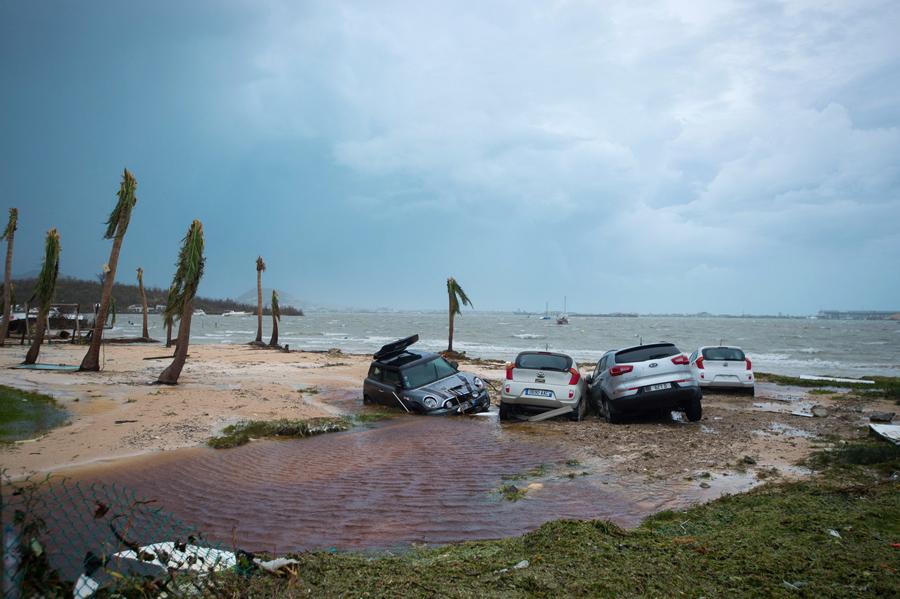 Coco Beach St Martin Hurricane