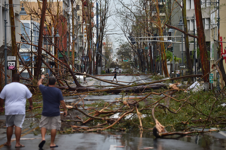 Image result for puerto rico san juan hurricane 2017