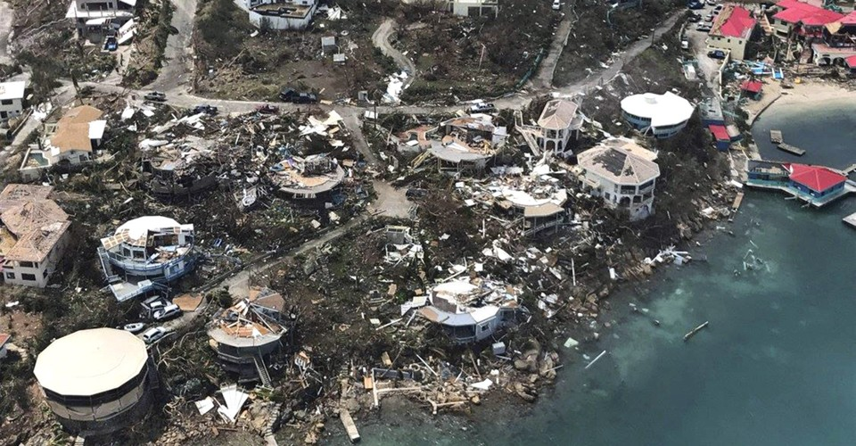 The Wreckage Left in Irma's Path Across the Caribbean and Southeastern U.S.