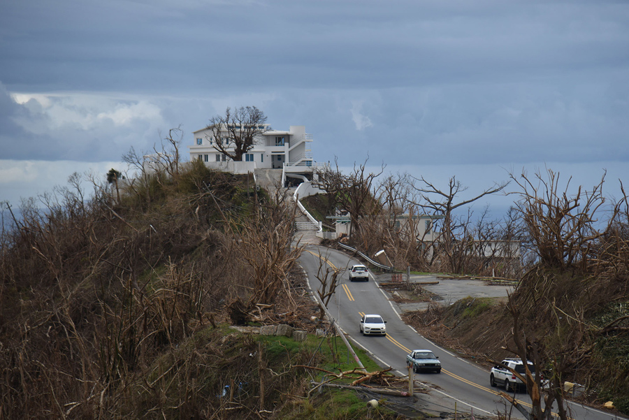 What puerto rico looked like when trump came to visit - Puerto rico huracan maria ...