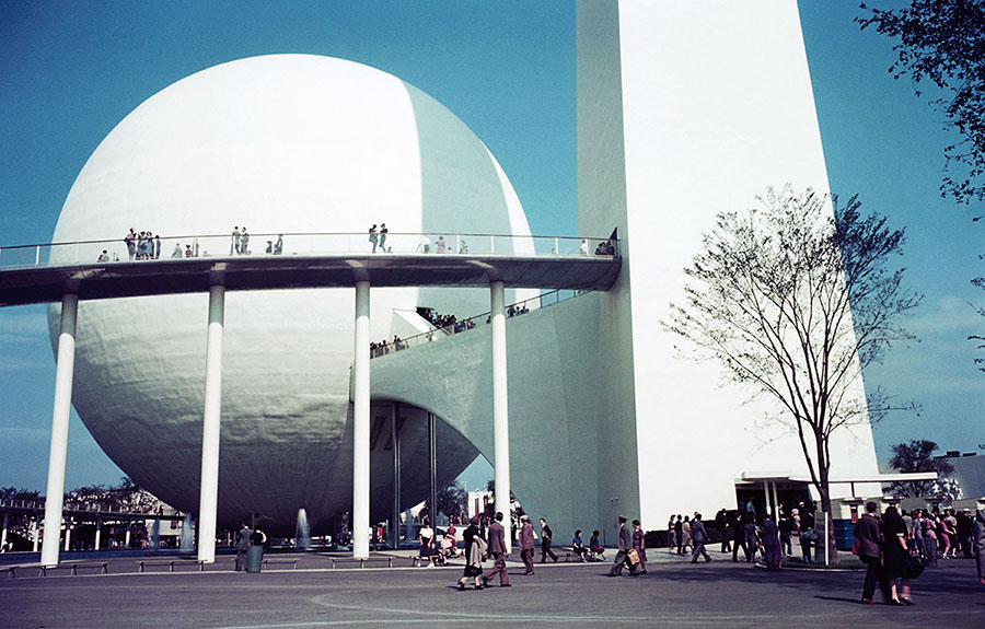 Color Photos of the 1939 New York World's Fair - The Atlantic