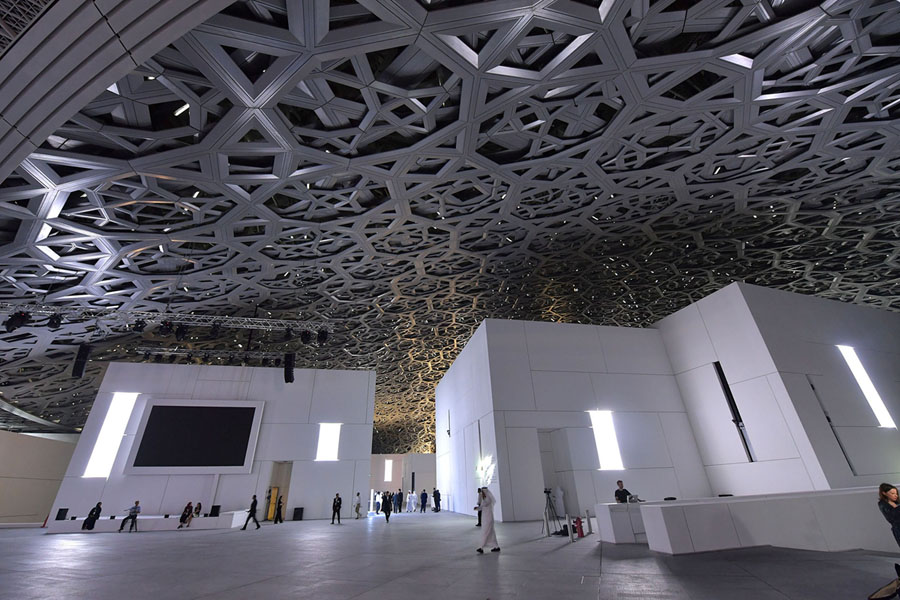The Opening Of The Louvre Abu Dhabi The Atlantic