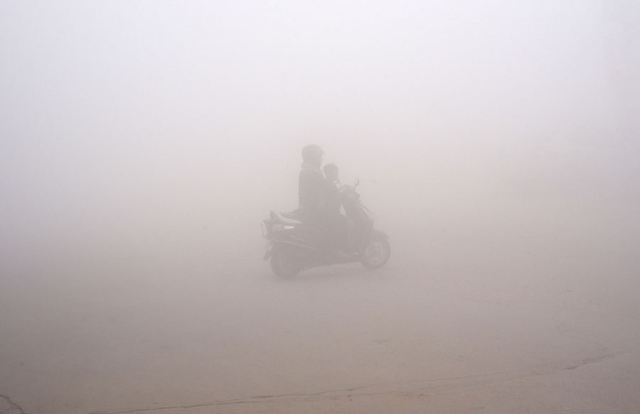 Delhi's Toxic Sky