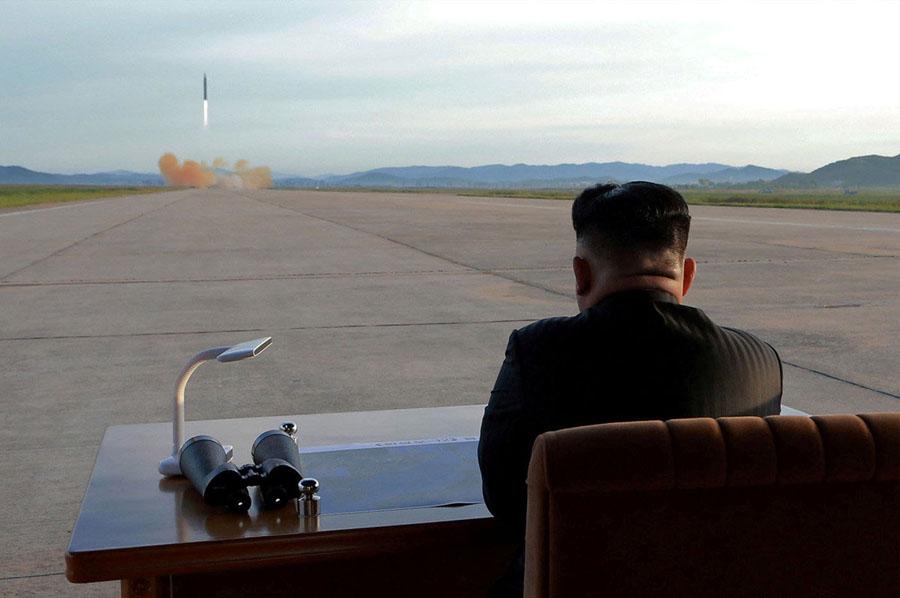 Little Rocket Man by KCNA / Reuters