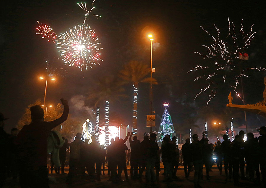 Photos Of The New Year Ringing In 2018 Around The World The Atlantic