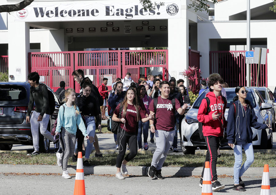 gun violence in the high schools of america Gun violence has been a major long list of covers focusing on america's gun problem newsweek and one teacher at columbine high school in.