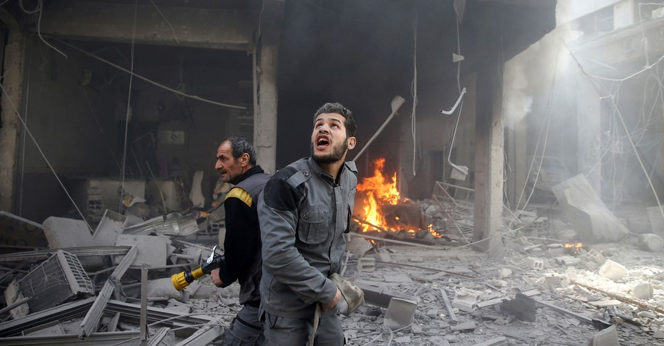 Photos: Seven Years of War in Syria