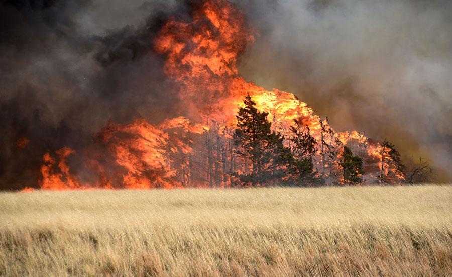 the megafire burning in oklahoma the atlantic