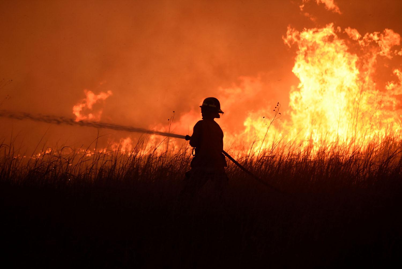 Rhea Fire Map.The Megafire Burning In Oklahoma The Atlantic