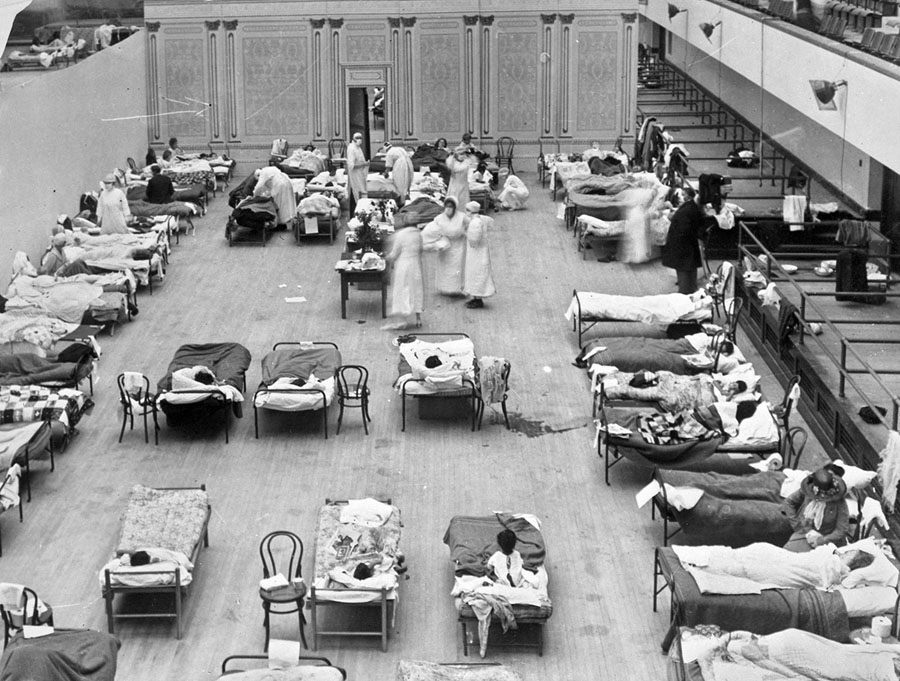 The 1918 Flu Pandemic: Photos From a Century Ago - The Atlantic