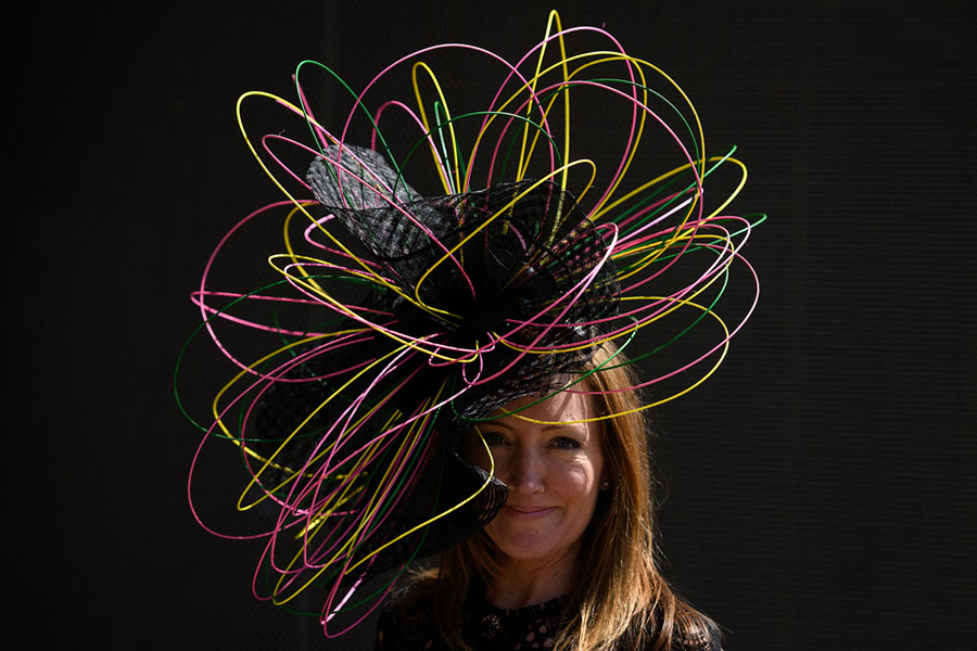 Hats of the Royal Ascot - The Atlantic