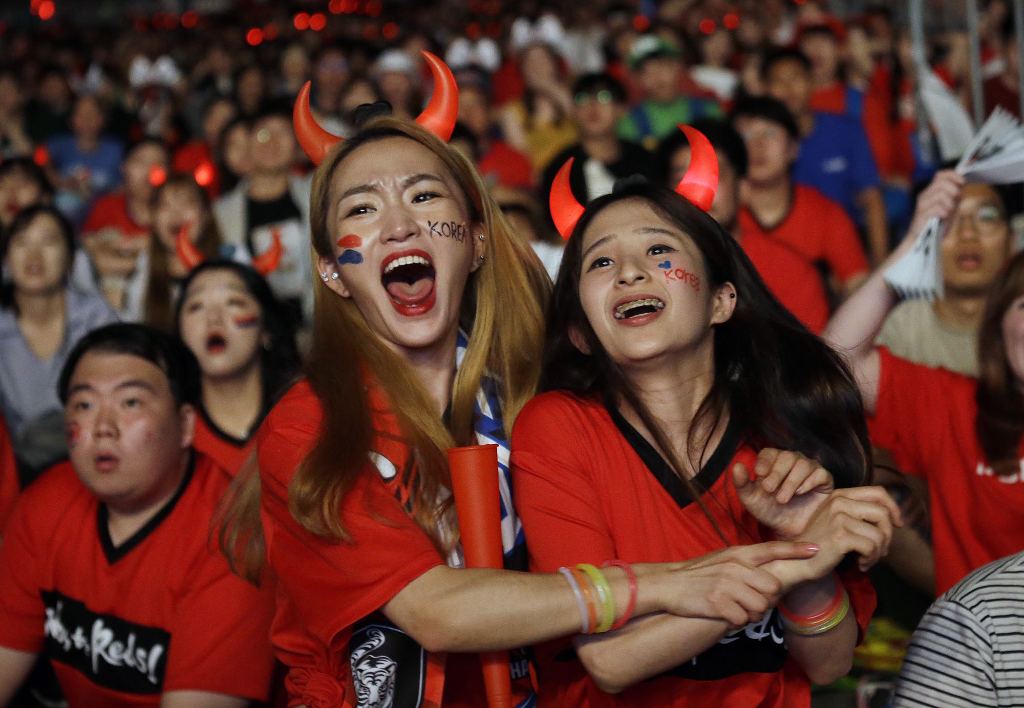 87e324bb7 Photos  Fans of the 2018 World Cup - The Atlantic
