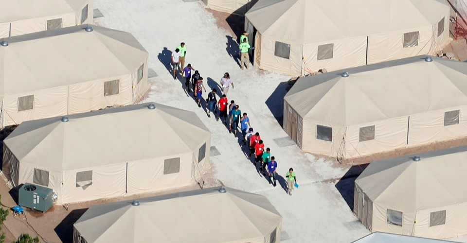 Photos: A Tent City for Detained Children in Texas