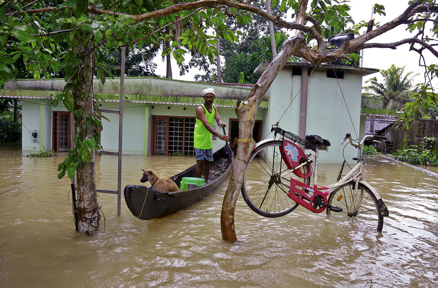 Devastating Monsoon Floods In Kerala India The Atlantic