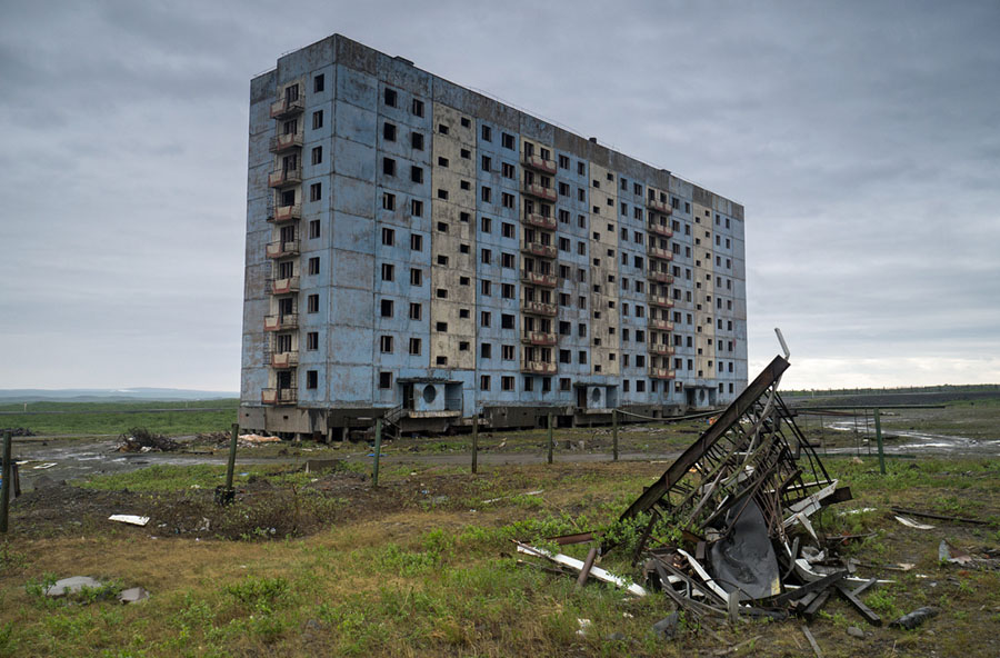 Photos of Abandoned Russia - The Atlantic