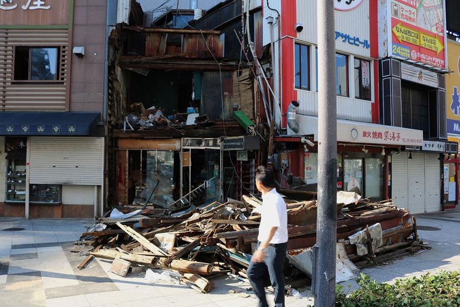 Photos: Typhoon Jebi Rages Across Japan - The Atlantic