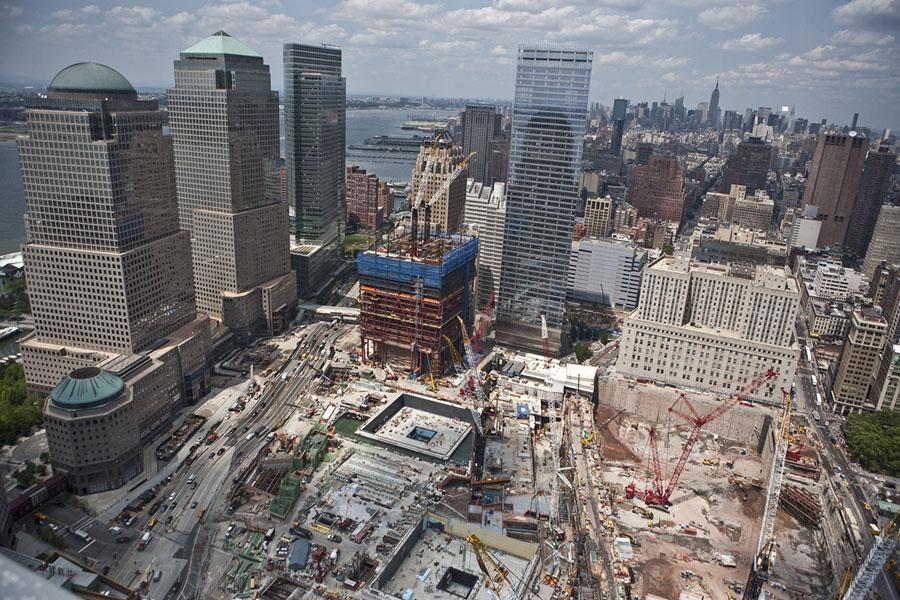 One World Trade Center: From Cornerstone to Skyscraper - The