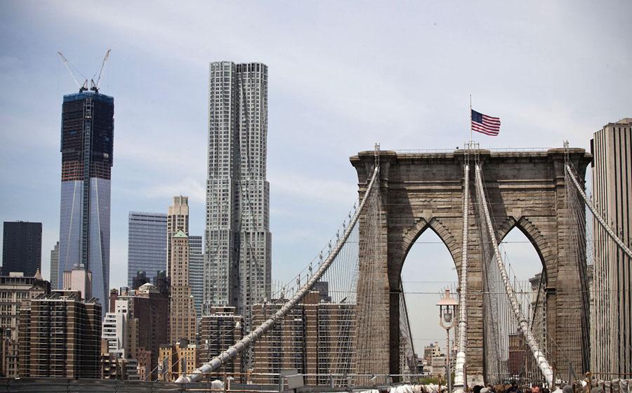 One World Trade Center From Cornerstone To Skyscraper The Atlantic