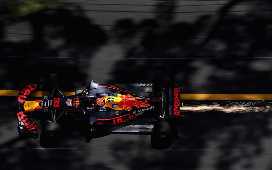 Sparks Fly on F1 Racetracks - The Atlantic