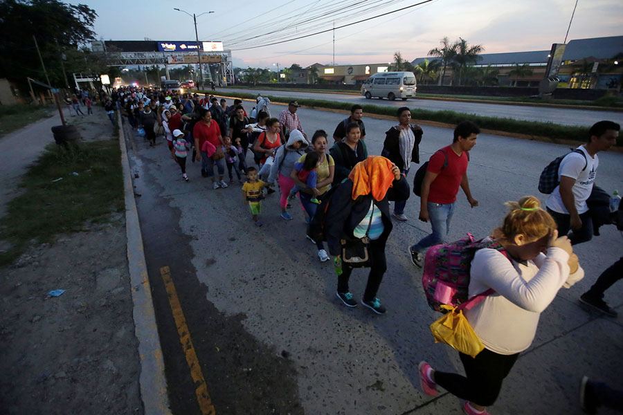 Photos of the Migrant Caravan - The Atlantic
