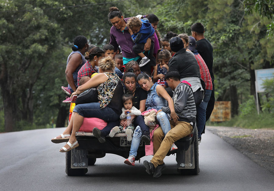 Photos Of The Migrant Caravan The Atlantic