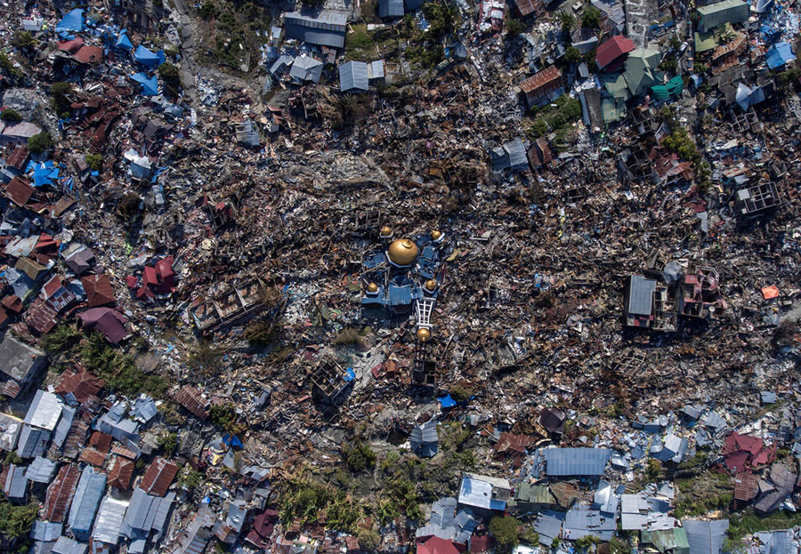 More Photos From Indonesia's Devastating Earthquake and Tsunami