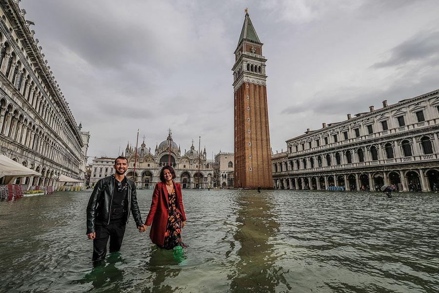 Venice flooding swamps 70 percent of city - The Washington