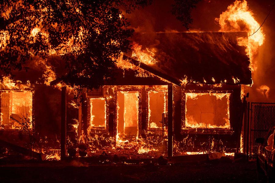 camp fire paradise california