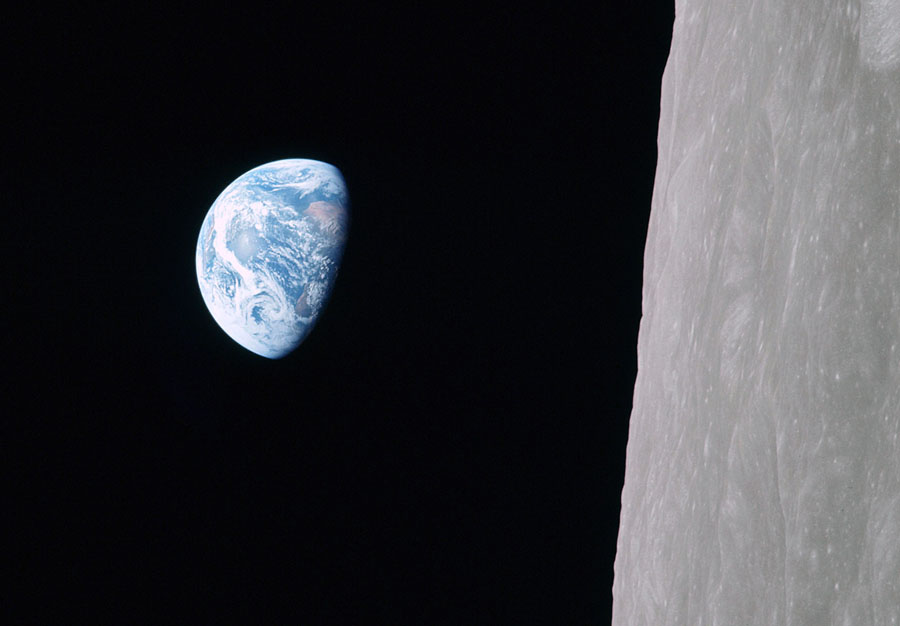 Photos: 50 Years Since Apollo 8 Showed Us 'Earthrise' - The Atlantic