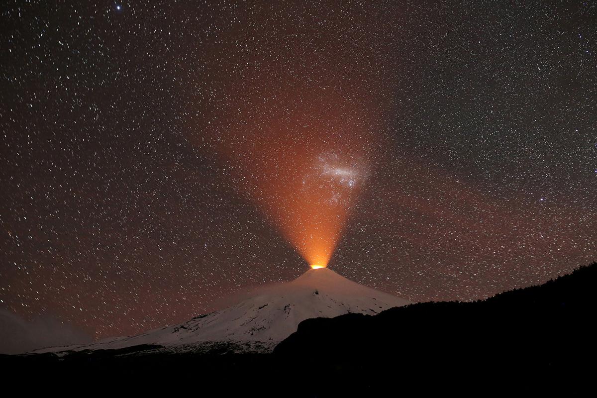 gunung api di chili