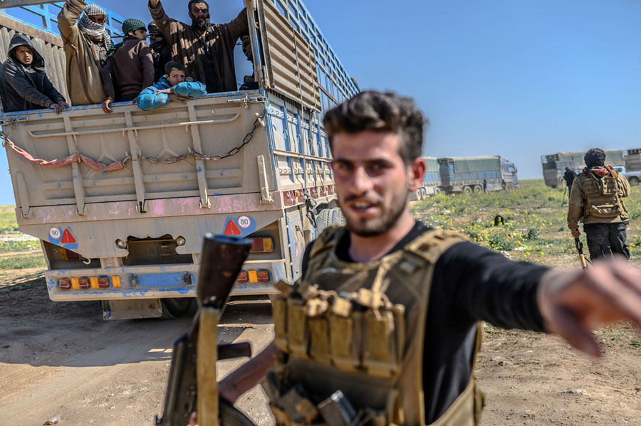 Photos: Closing In on the Last ISIS Stronghold