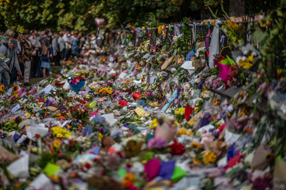 Photos: Mourning in New Zealand (25 photos)