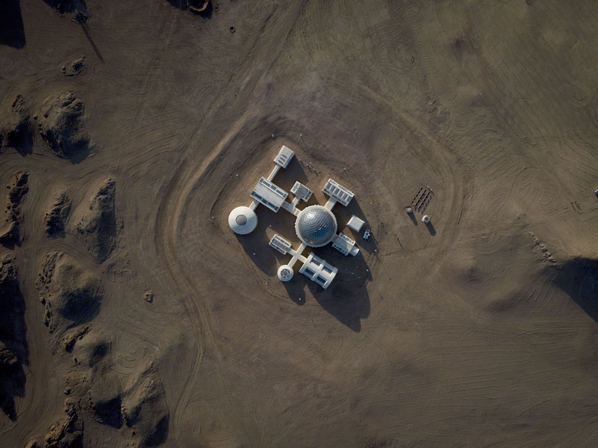 Mars in the Gobi Desert (20 photos)